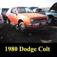 Junkyard 1980 Dodge Colt