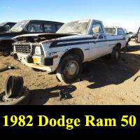 Junkyard 1982 Dodge Ram 50 pickup