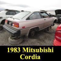 Junkyard 1983 Mitsubishi Cordia