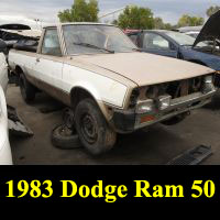 Junkyard 1983 Dodge Ram 50 Prospector