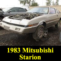 Junkyard 1983 Mitsubishi Starion