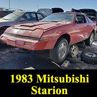 1983 Mitsubishi Starion