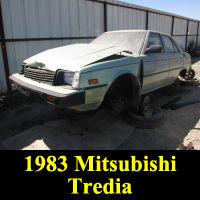 Junkyard 1983 Mitsubishi Tredia