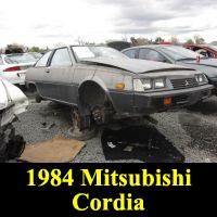 Junkyard 1984 Mitsubishi Cordia