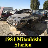 Junkyard 1984 Mitsubishi Starion