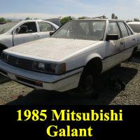 Junkyard 1985 Mitsubishi Galant