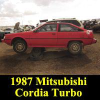 Junkyard 1987 Cordia Turbo