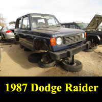 Junkyard 1987 Dodge Raider