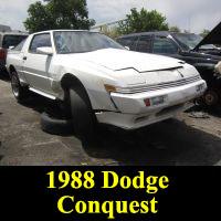 Junkyard 1988 Dodge Conquest