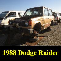 Junkyard 1988 Dodge Raider