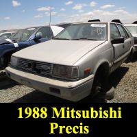 Junkyard 1988 Mitsubishi Precis