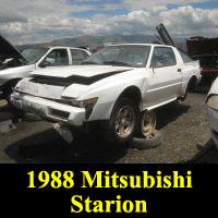 Junkyard 1988 Mitsubishi Starion