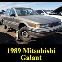 Junkyard 1989 Mitsubishi Galant