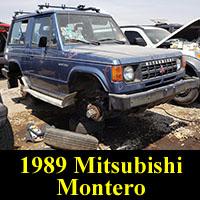 Junkyard 1989 Mitsubishi Montero