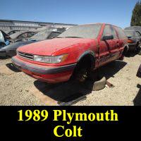 Junkyard 1989 Plymouth Colt