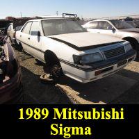 Junkyard 1989 Mitsubishi Sigma