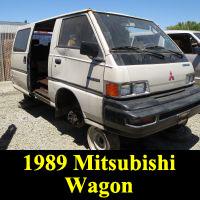 Junkyard 1989 Mitsubishi Wagon
