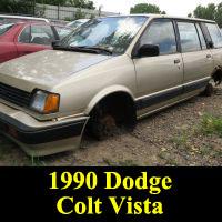 Junkyard 1990 Dodge Colt Vista