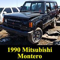 Junkyard 1990 Mitsubishi Montero