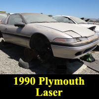 Junkyard 1990 Plymouth Laser Turbo