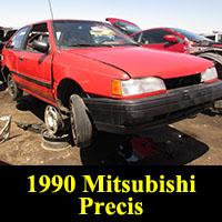 Junkyard 1990 Mitsubishi Precis