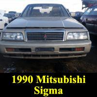 Junkyard 1990 Mitsubishi Sigma