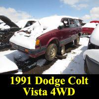 Junkyard 1991 Dodge Colt Vista 4WD