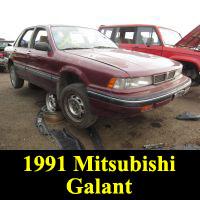 Junkyard 1991 Mitsubishi Galant