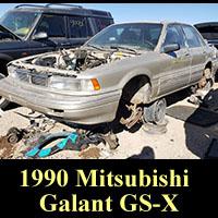 Junkyard 1990 Mitsubishi Galant GS-X