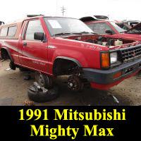 Junkyard 1991 Mitsubishi Mighty Max