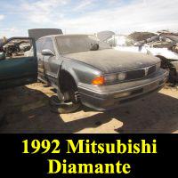 Junkyard 1992 Mitsubishi Diamante LS