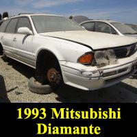 Junkyard 1993 Mitsubishi Diamante wagon