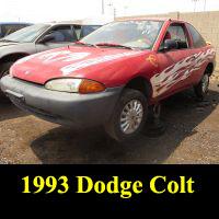 Junkyard 1993 Dodge Colt
