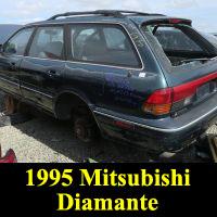 Junkyard 1995 Mitsubishi Diamante