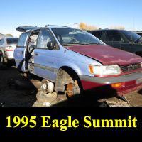 Junkyard 1995 Eagle Summit 4WD Wagon
