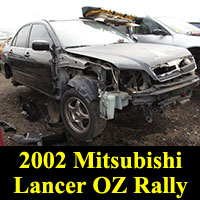 Junkyard 2002 Mitsubishi OZ Rally Edition
