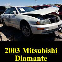 Junkyard 2003 Mitsubishi Diamante