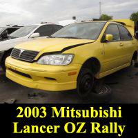 Junkyard 2003 Mitsubishi OZ Rally Edition