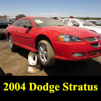 Junkyard 2004 Dodge Stratus R/T Coupe
