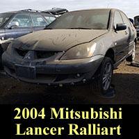 Junkyard 2004 Mitsubishi Lancer Ralliart