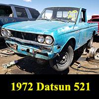 Junkyard 1972 Datsun 521 pickup