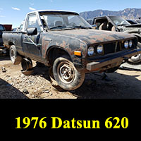 Junkyard 1976 Datsun 620 pickup