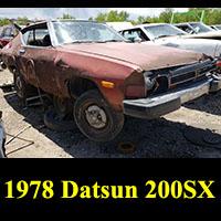 Junkyard 1978 Datsun 200SX