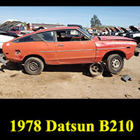 Junkyard 1978 Datsun B210