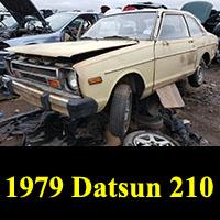 Junkyard 1979 Datsun 210