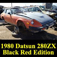Junkyard 1980 Datsun 280ZX Black Red Edition