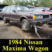 Junkyard 1984 Nissan Maxima wagon