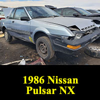 Junkyard 1986 Nissan Pulsar NX