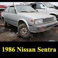 Junkyard 1986 Nissan Sentra