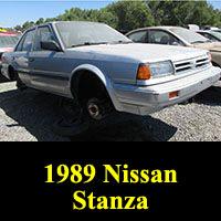 1989 Nissan Stanza